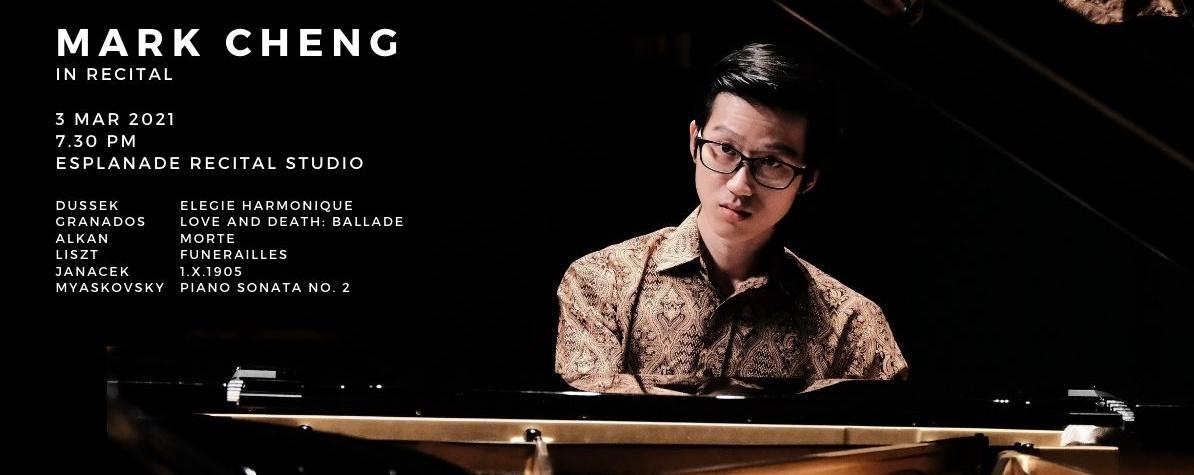 Mark Cheng In Recital