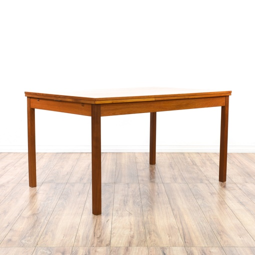 Dining Room Furniture San Diego: Danish Modern Teak Draw-Leaf Dining Table