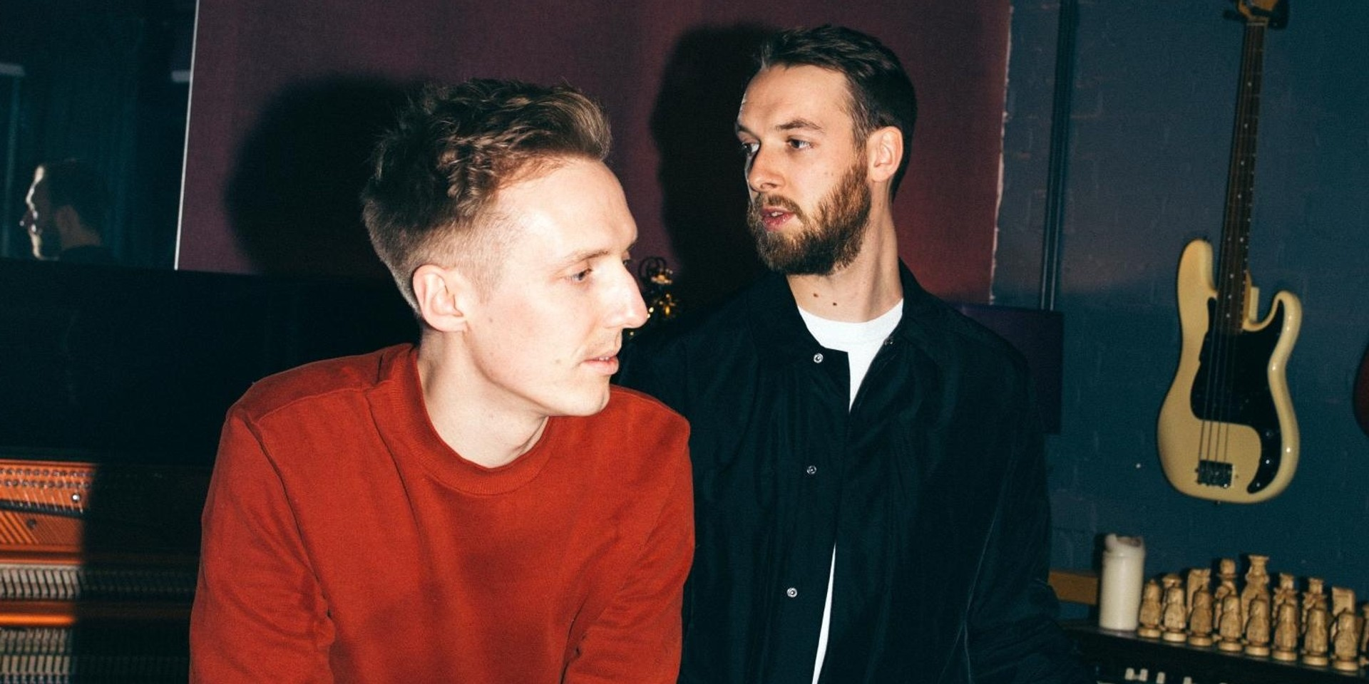 HONNE releases sheet music for 'no song without you', 'by my side', and 'la la la that's how it goes'