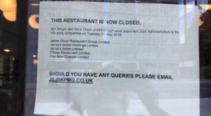 Jamie's Italian closed