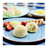 Clotted cream vanilla ice-cream