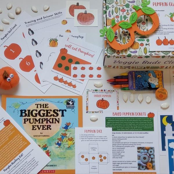 """Kids Love Pumpkins!"""