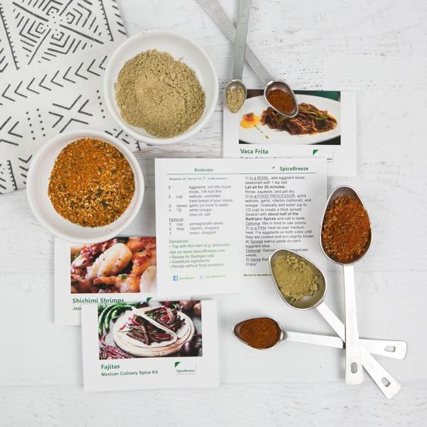May Quad Box - Cuban Vaca Frita & Georgian Badrijani & 2 meals of your choice