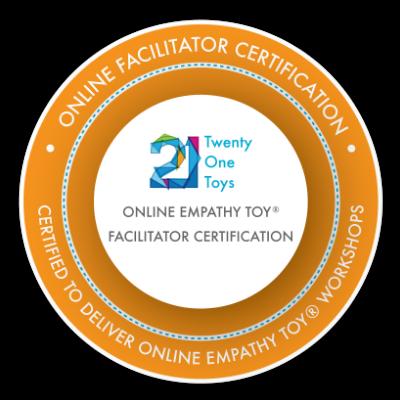 """Facilitateur """"online"""" certifié """"Empathy Toy"""" animé et délivré par 21 Toys"""
