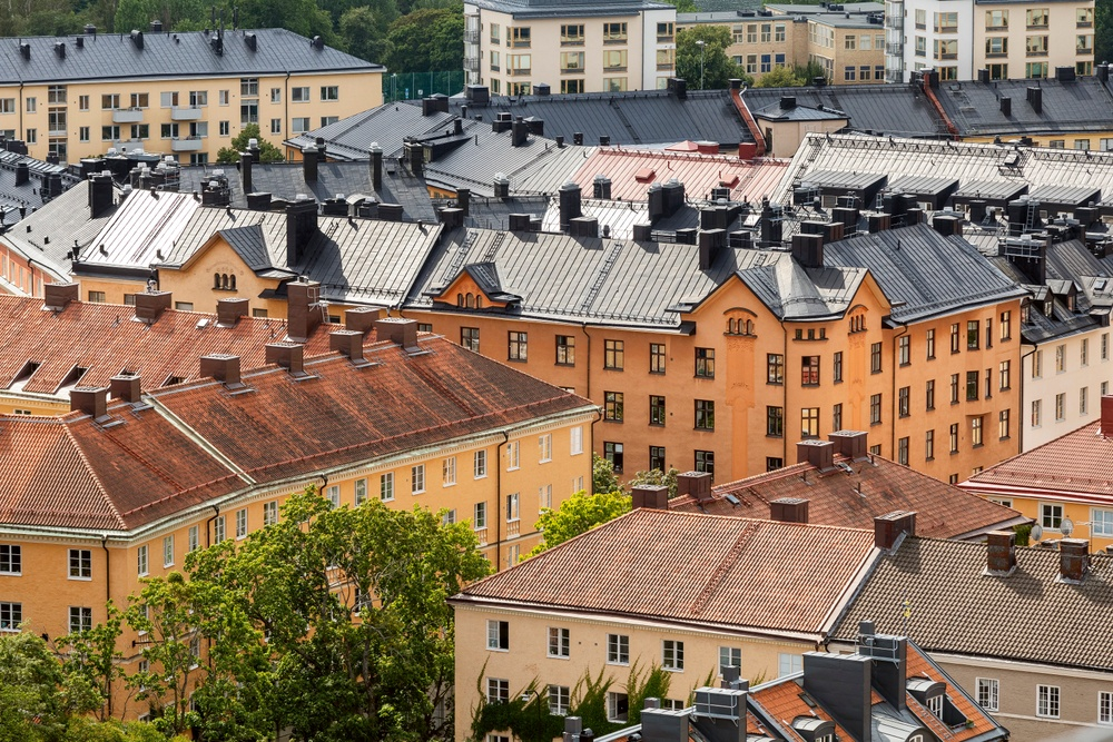 Takåsar i Stockholm
