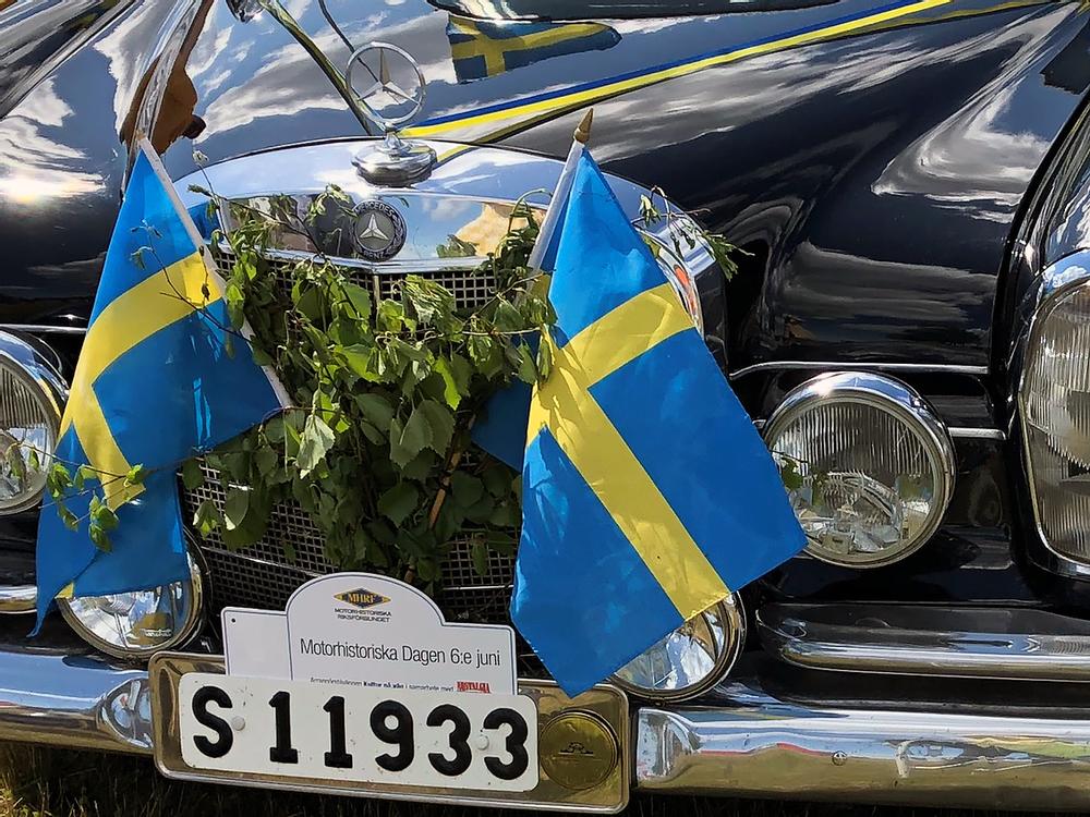 Motorhistoriska dagen firas på nationaldagen, den 6 juni.