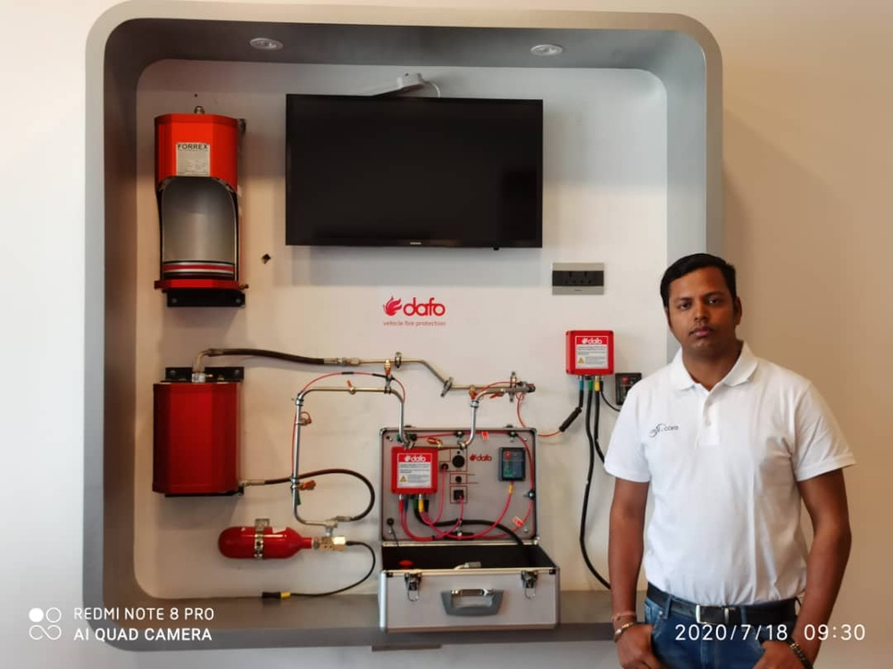 Amit kr Gupta, Project Manager of Cool & Care SARL