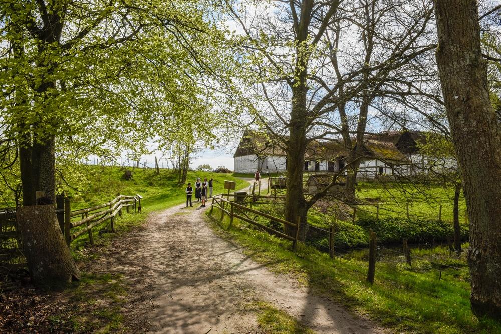 1 maj på Kulturens Östarp. Foto: Viveca Ohlsson/Kulturen