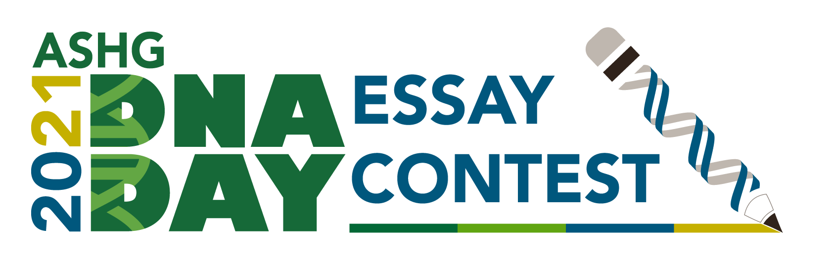 2021 ASHG DNA Day Essay Contest Logo