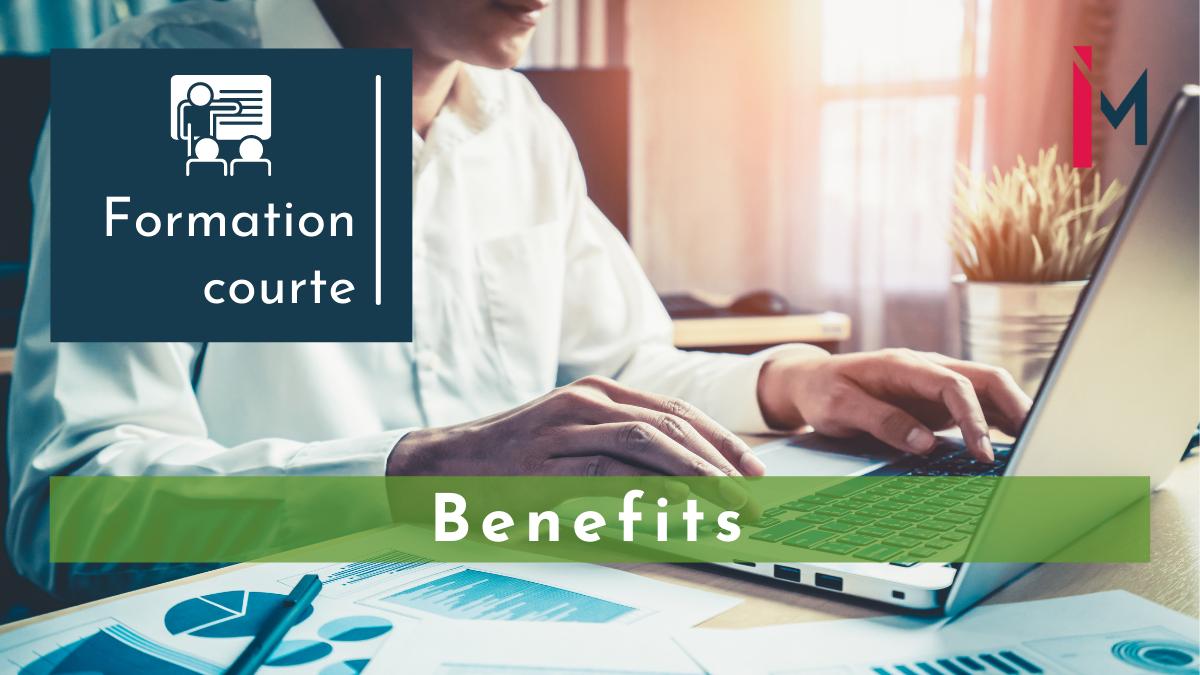 Représentation de la formation : Management des Benefits, focus France formation courte