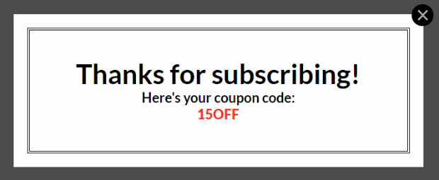 How to Boost Conversions Like Crazy with Coupon Popups 4