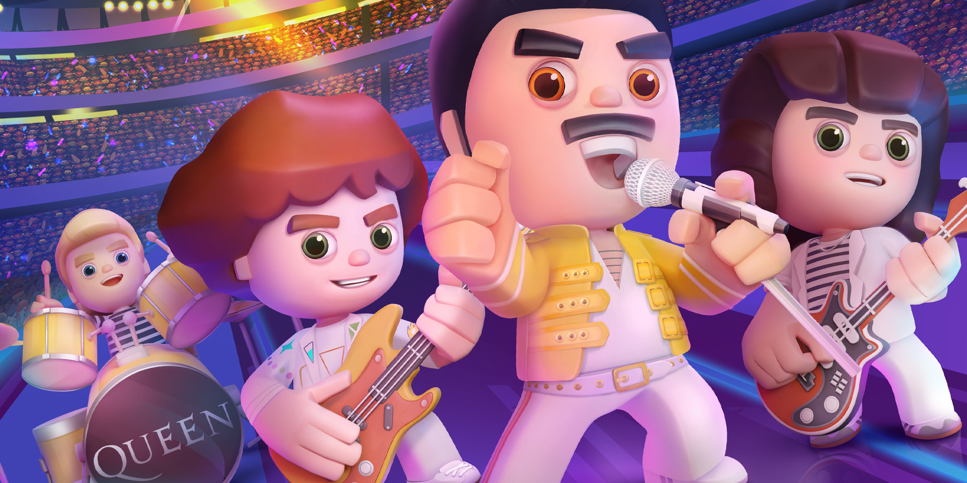 Queen launch official rhythm mobile game 'Rock Tour'