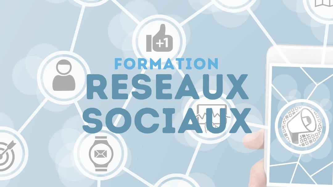 Représentation de la formation : GESTION DES RESEAUX SOCIAUX - A DISTANCE - SYNCHRONE