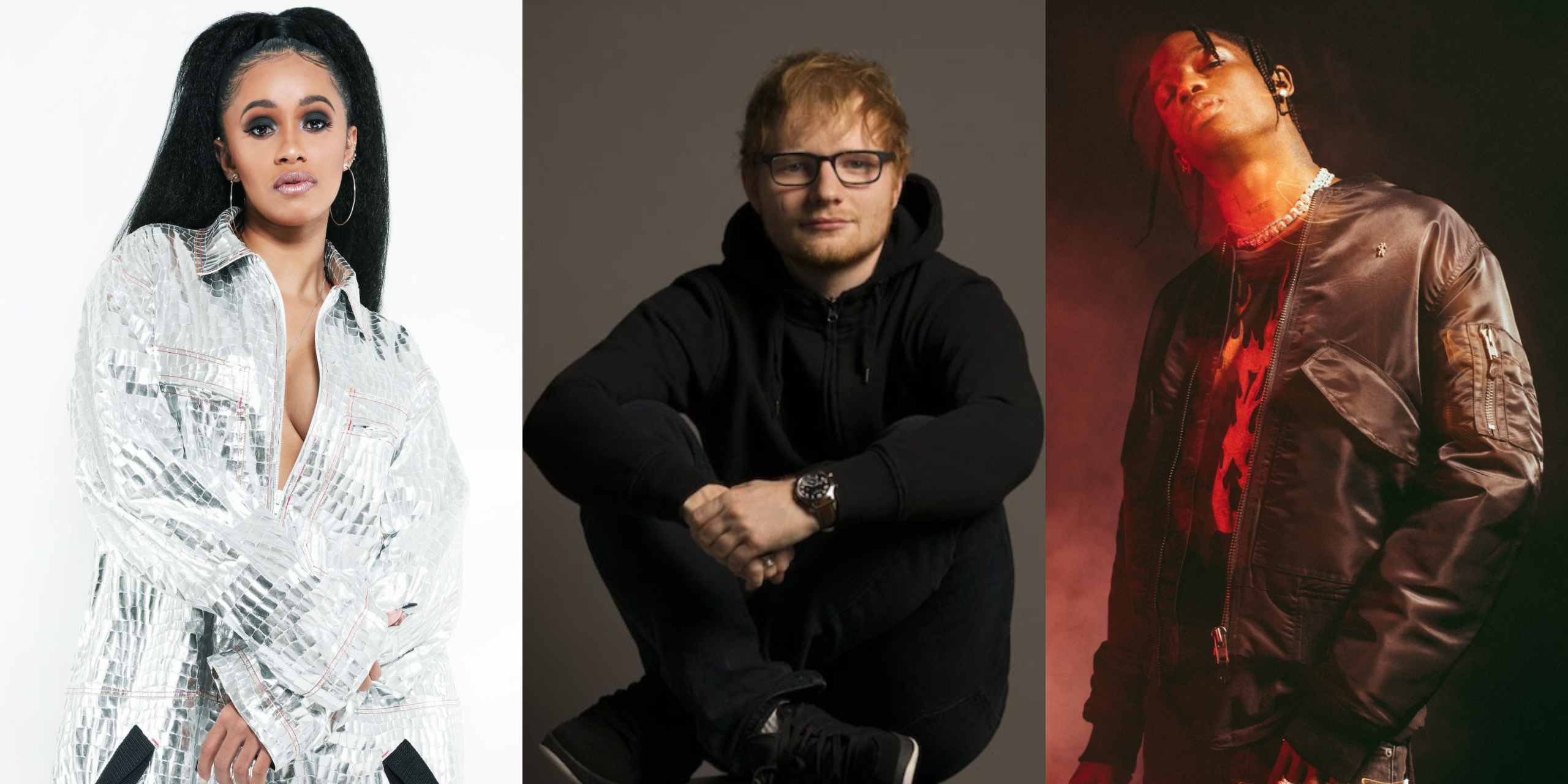 Ed Sheeran releases track list for No. 6 Collaborations Project, features Cardi B, Travis Scott, Skrillex and more