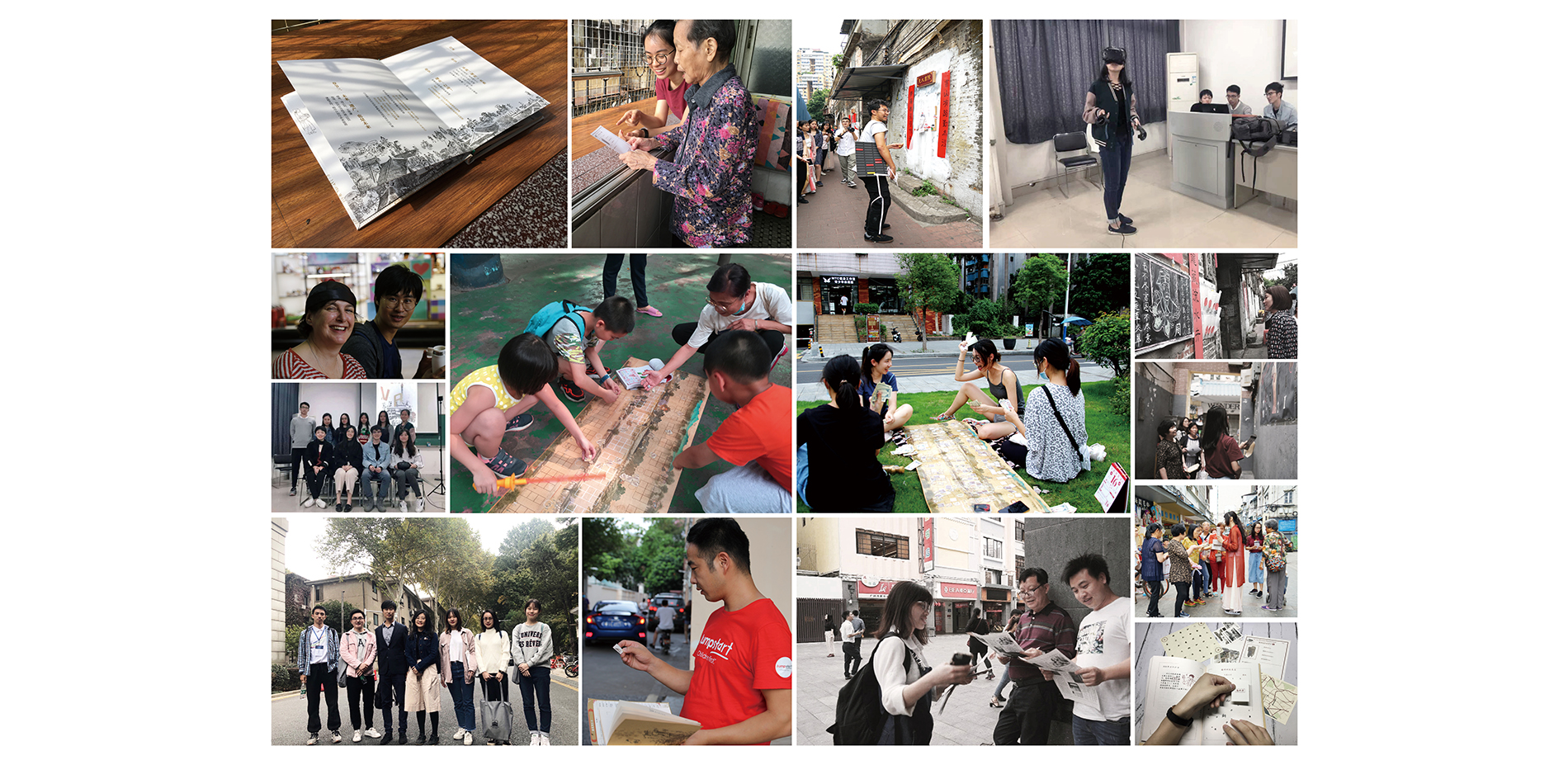 Photos of the Community Historic Environment Education Activities