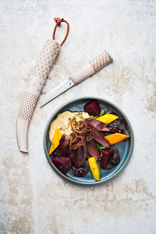 Samisk mat serveras på Sturehof