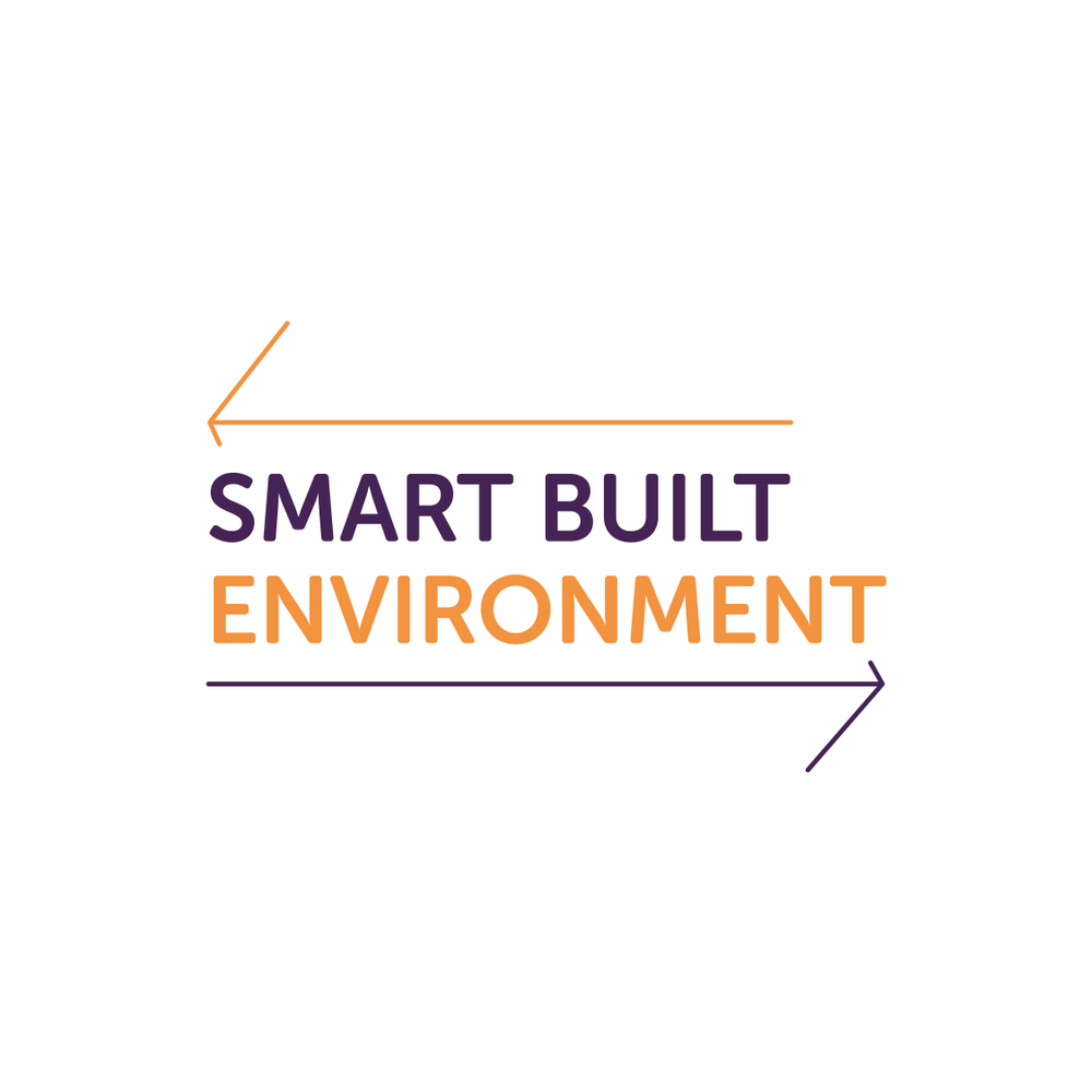 Logotyp för det strategiska innovationsprogrammet Smart Built Environment