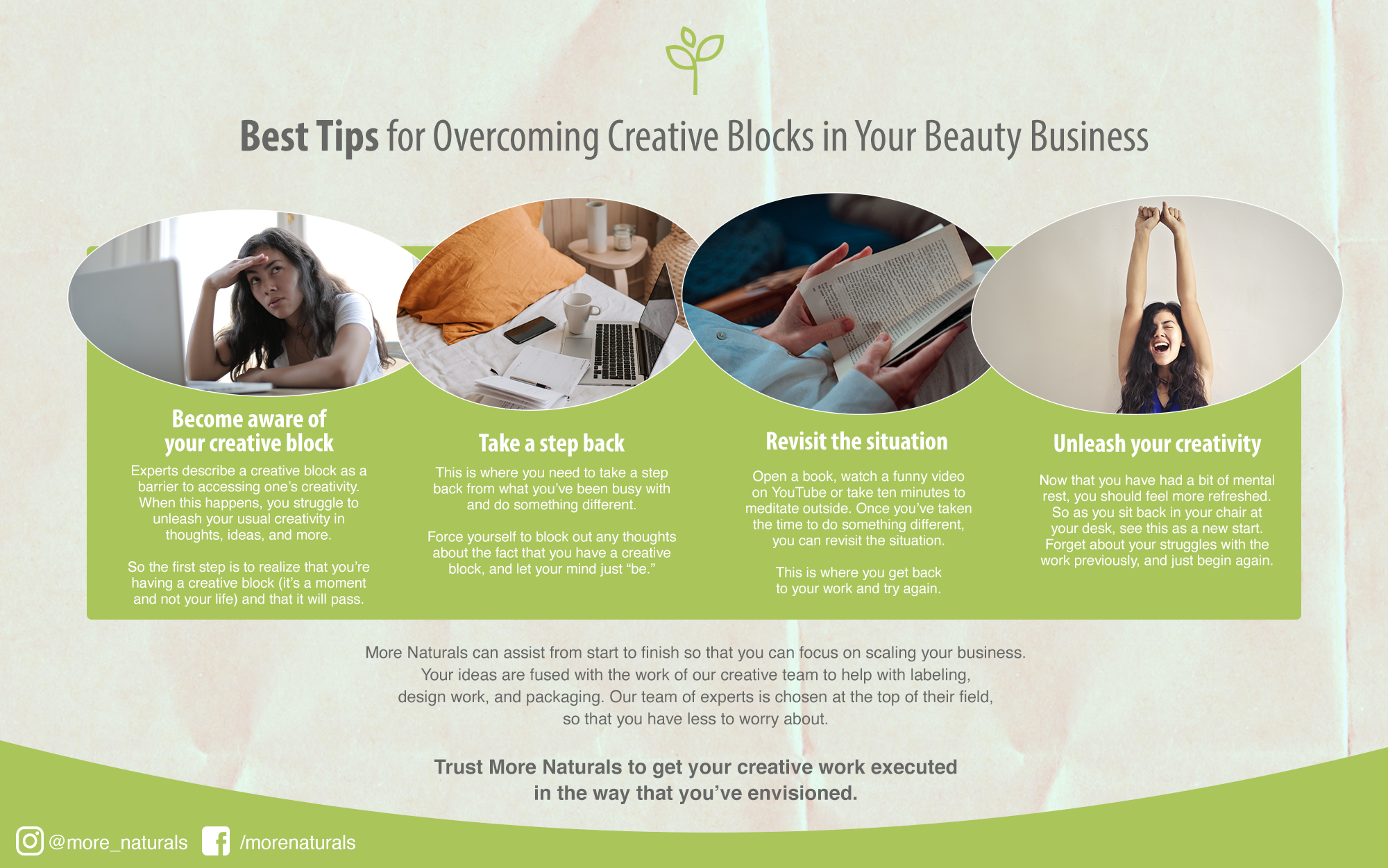 More Naturals Best Tips for Overcoming Creative Blocks in Your Beauty Business