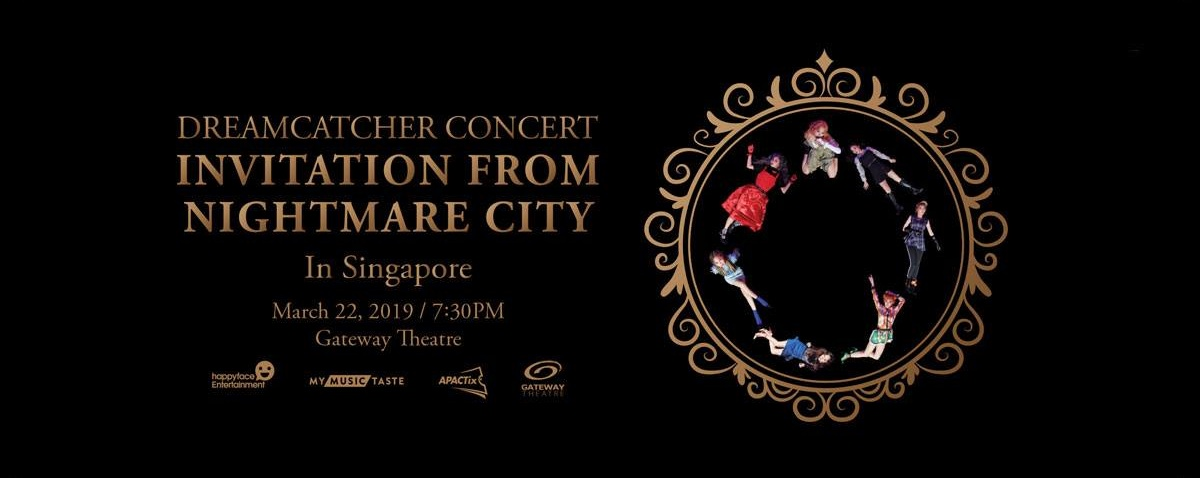Dreamcatcher concert: Invitation from Nightmare City