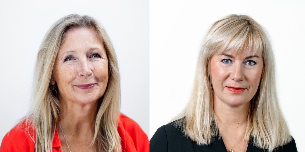 Ebba Fåhraeus, CEO of SmiLe Incubator, and Ulrika Dieroff, Head of Business Support at the Chamber of Commerce and Industry