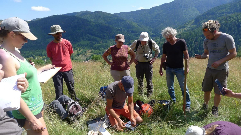Représentation de la formation : Diagnostiquer l'état environnemental d'une ferme avec HUMUS - Module 1 : Focus sur le sol