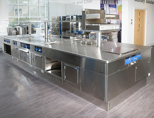 Electrolux Professional bespoke Thermaline prime cooking suite