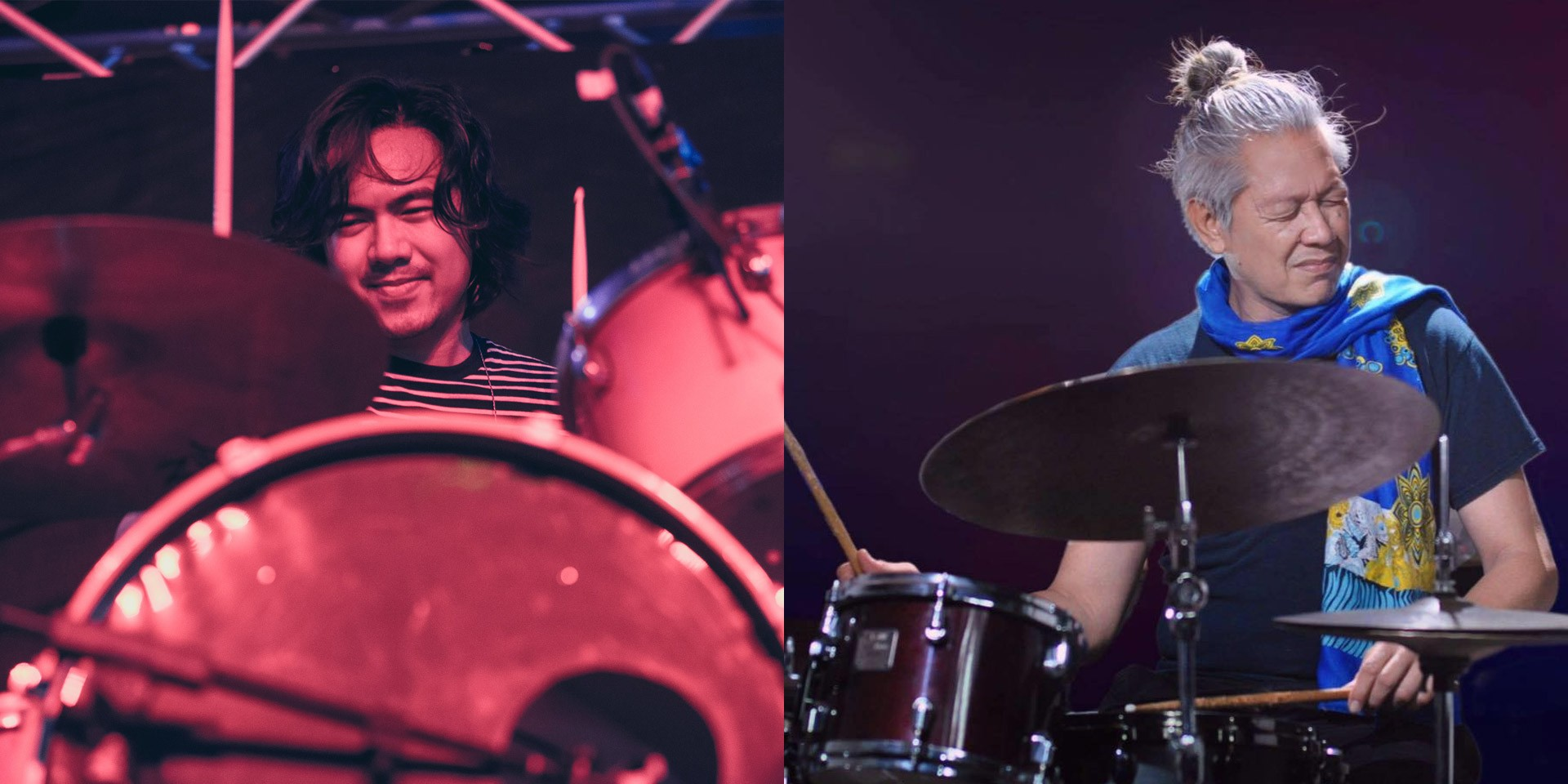 UDD drummer Ean Mayor reacts to Side A co-founder Mar Dizon's beat bike cover of 'Sigurado'