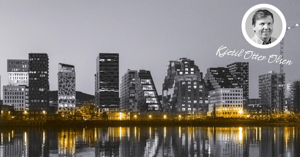 Oslo skyline, Kjetil Otter Olsen