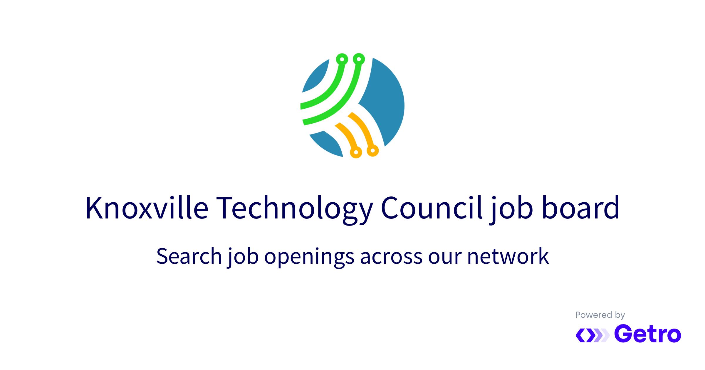 Jobs | Knoxville Technology Council Job Board