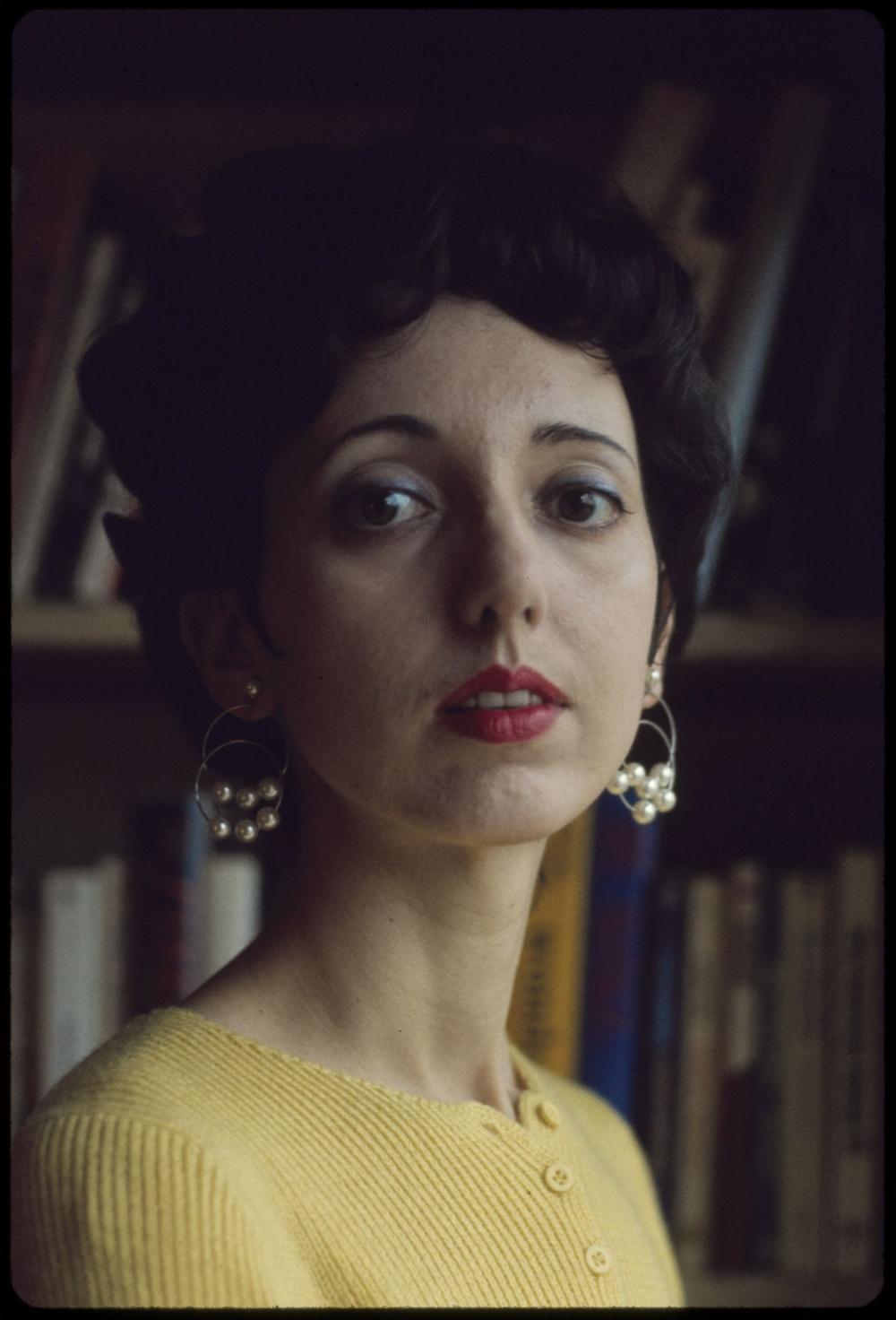 Joyce Carol Oates. Library of Congress, Prints & Photographs Division, photograph by Bernard Gotfryd.