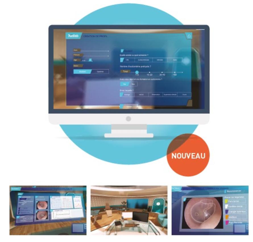 logiciel Audilab pour l'audiométrie
