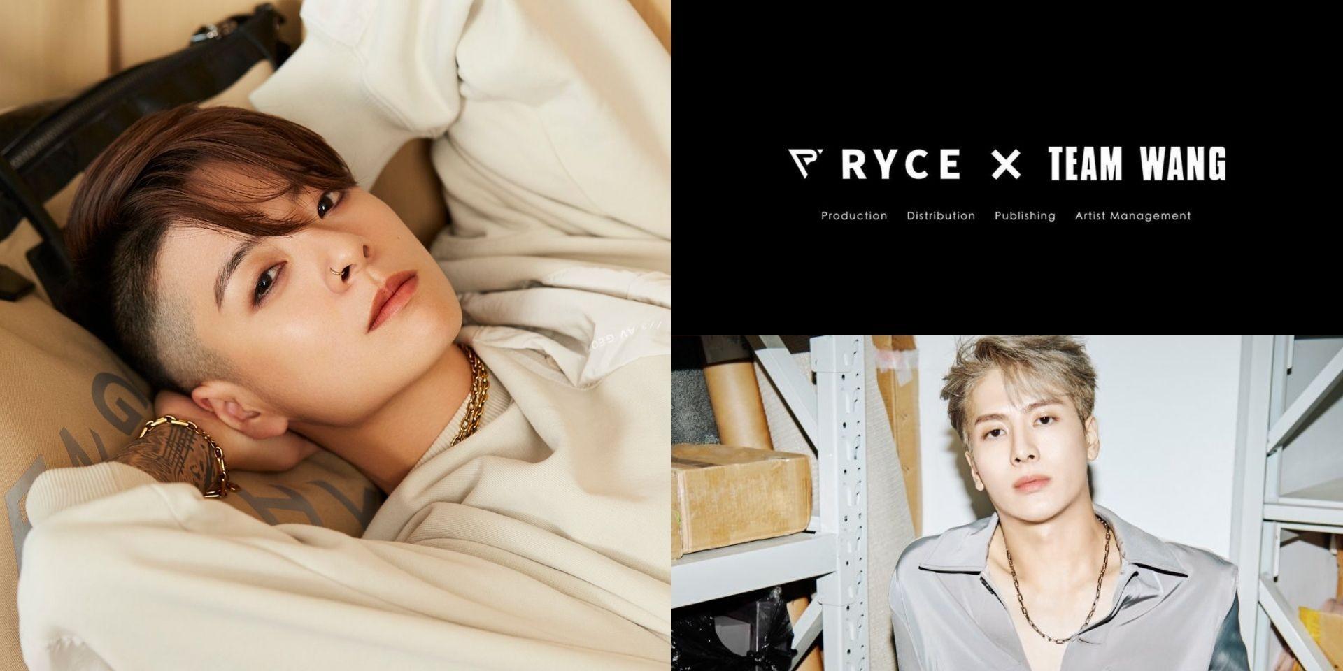 RYCE Entertainment teams up with Jackson Wang's Team Wang, announces Amber Liu as new artist