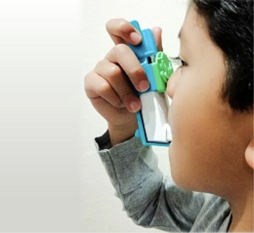 New Easy Squeezy Asthma Device for Kids
