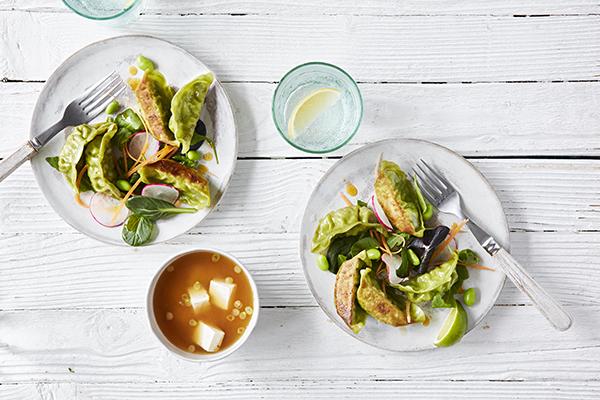 vegetable-gyoza