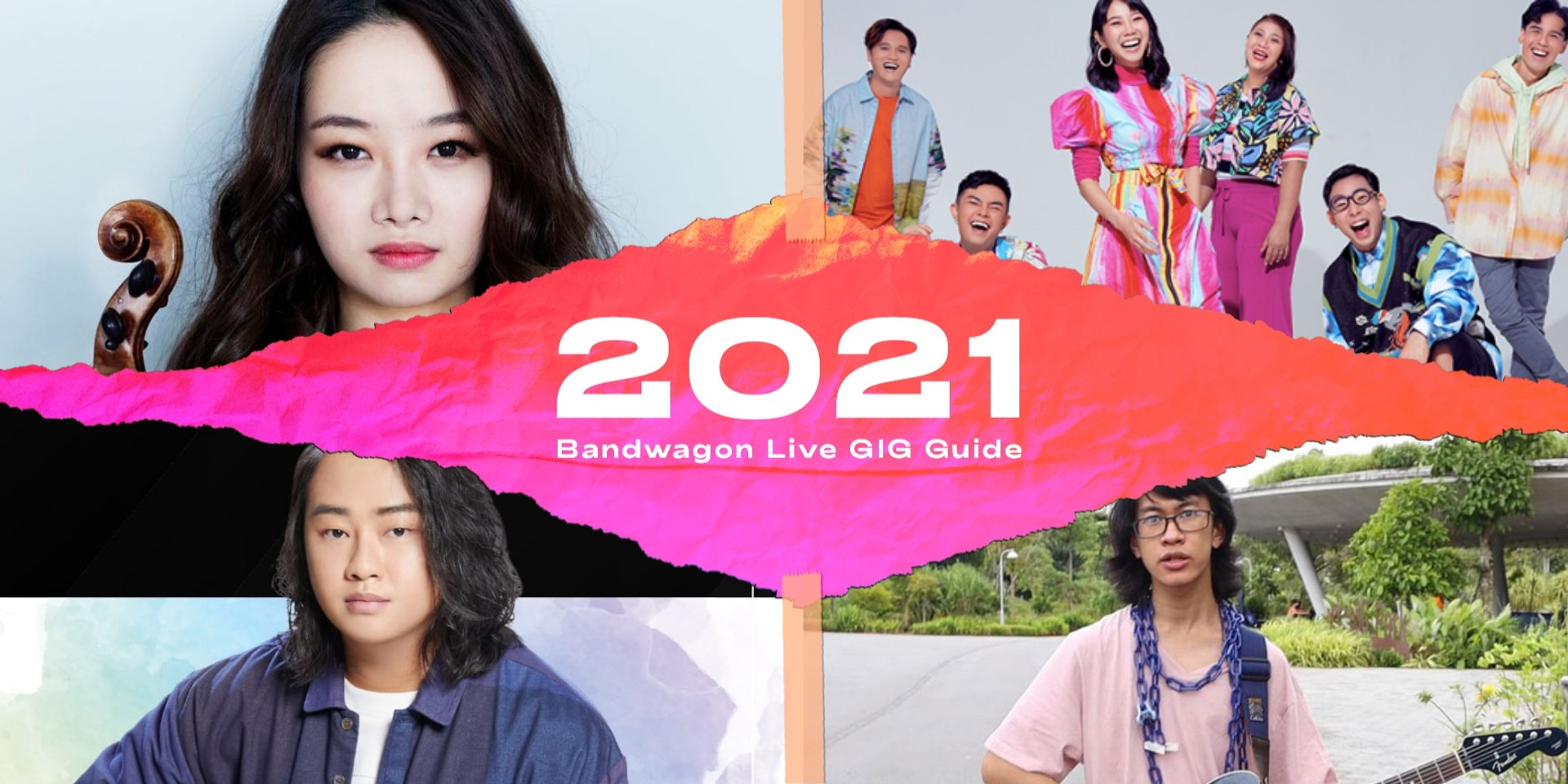 Live gigs and concerts to catch in Singapore in 2021 — Yuming Lai, Bomsori Kim, deførmed, MICappella and more