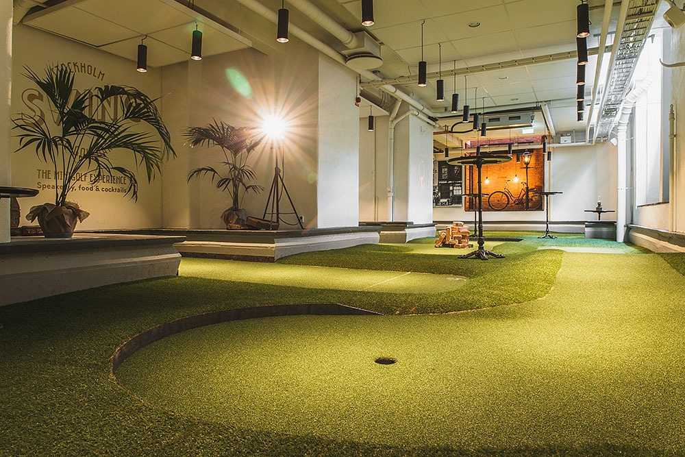 part of the course at Swing
