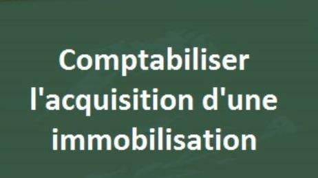 Représentation de la formation : Utilisateur FI AA Immobilisation