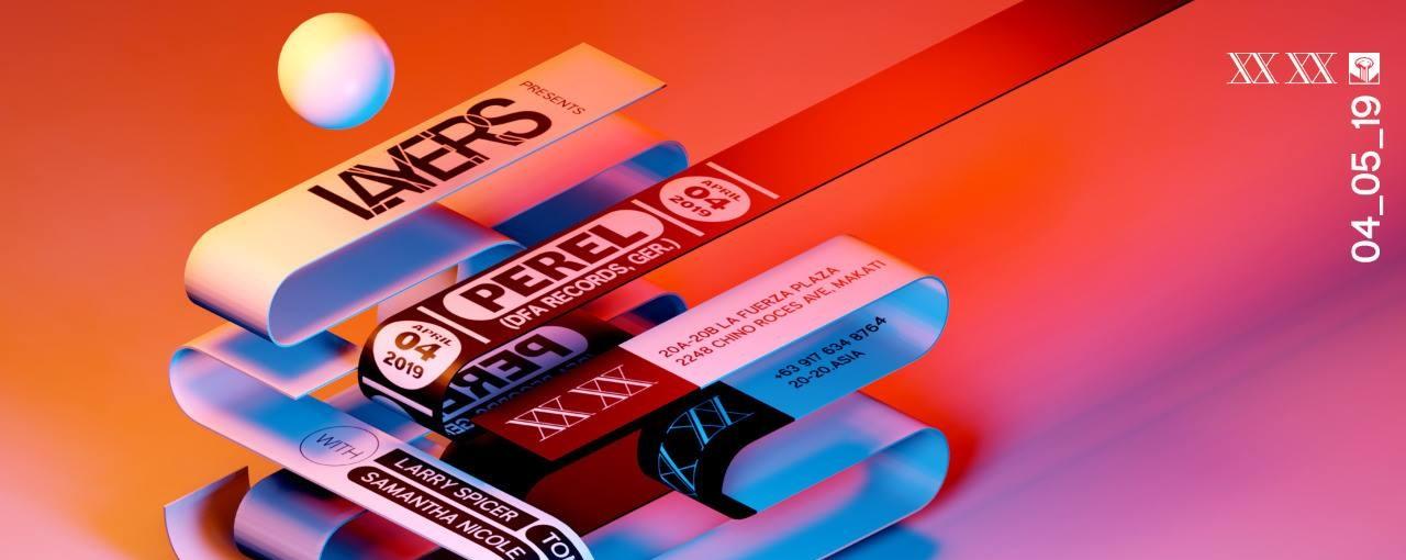 Layers presents PEREL (DFA Records, GER)