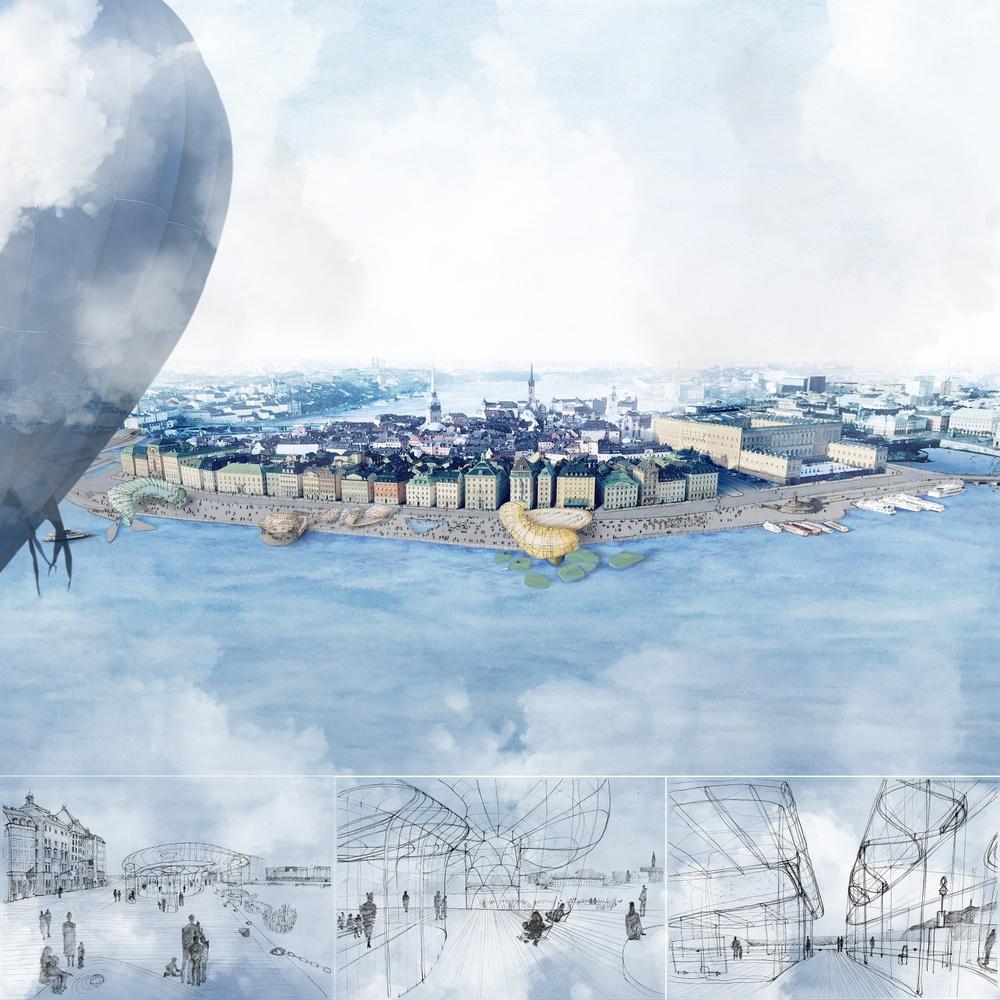 """Scenes for Future Expression"". Drawing: Esencial - Carmen Izquierdo (2019)"