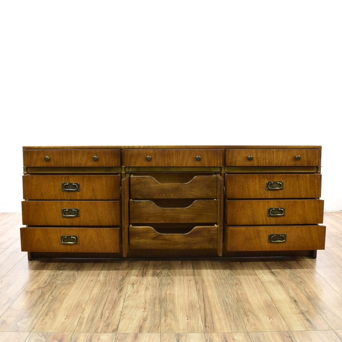 "Furniture Corp: ""Hickory Manufacturing Co."" Campaign Dresser"