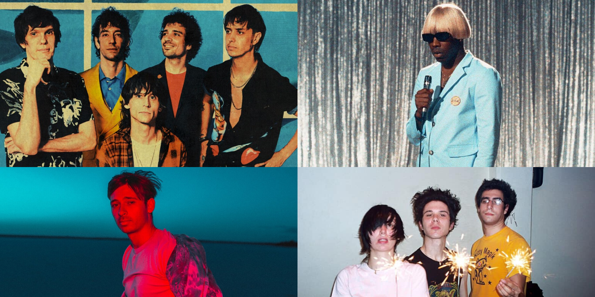 The Strokes, Tyler, The Creator, Flume, Yeah Yeah Yeahs, and more to perform at Splendour in the Grass 2020