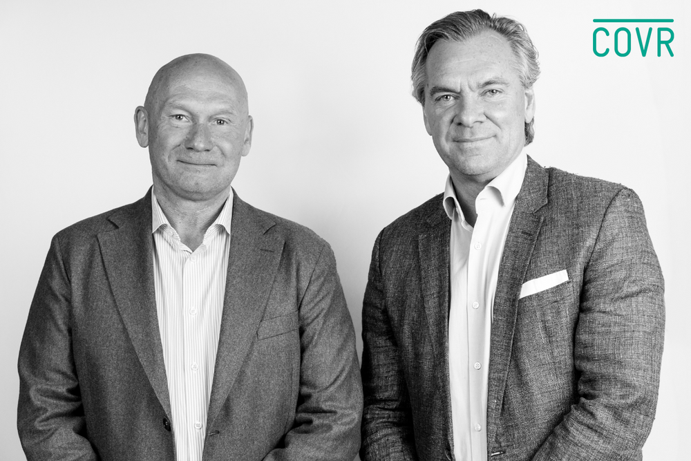 Peter Alexanderson and Patrik Malmborg founders of Covr Security.