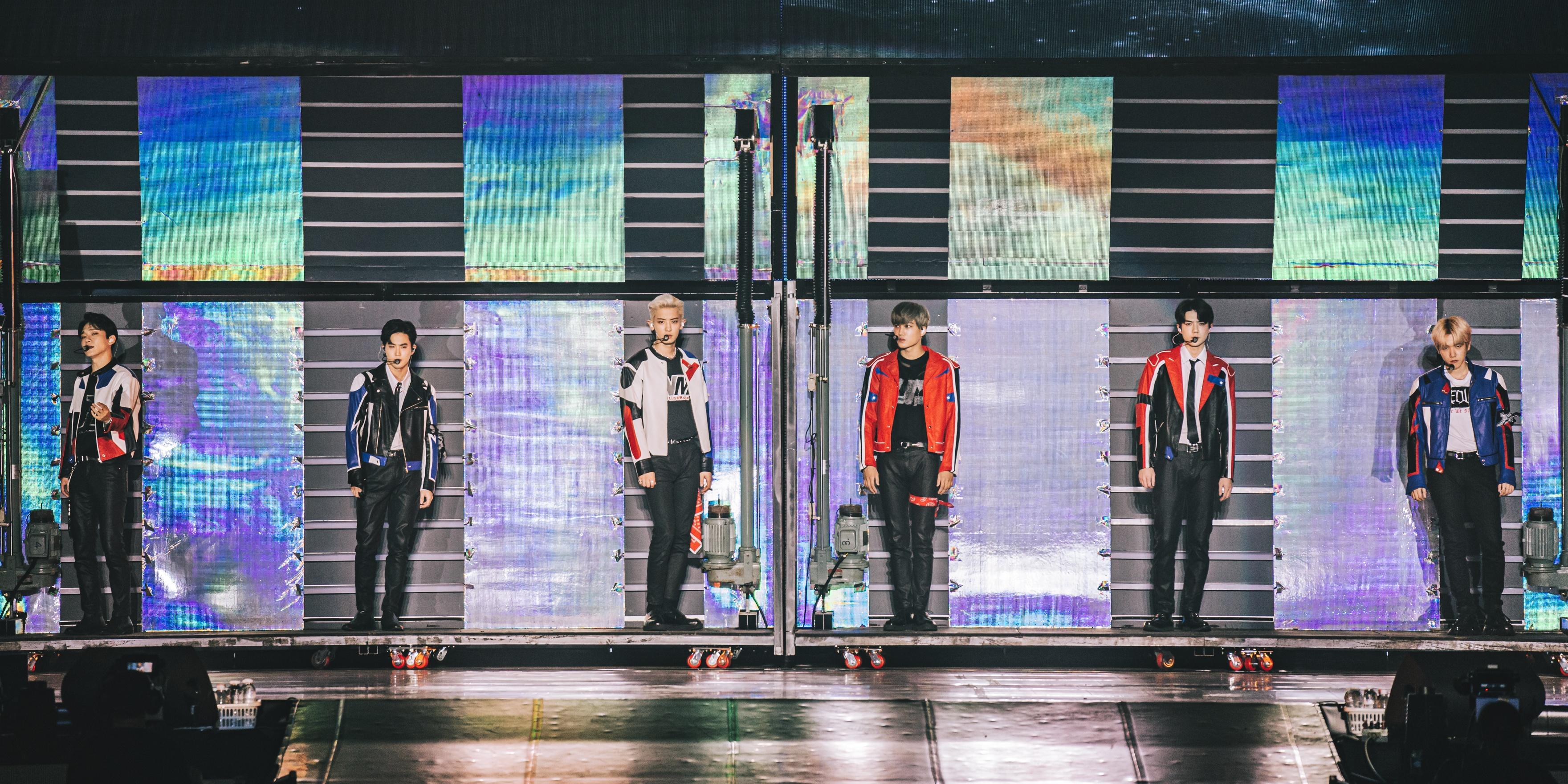 """EXO只剩六人本地开唱 答应粉丝 """"我们是一体的"""""""
