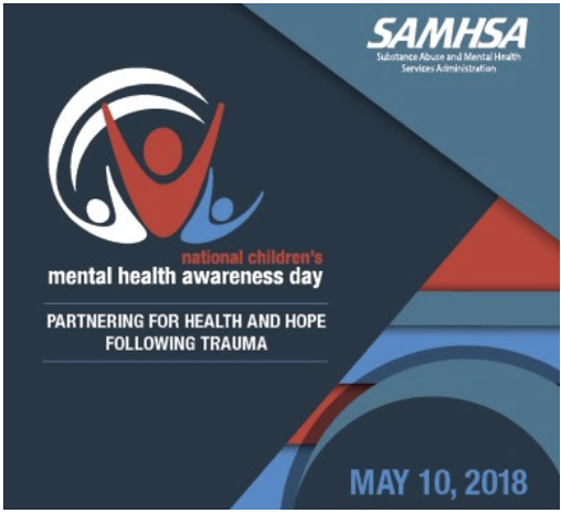 Partnering For Mental Health Awareness of #KidsAndTrauma
