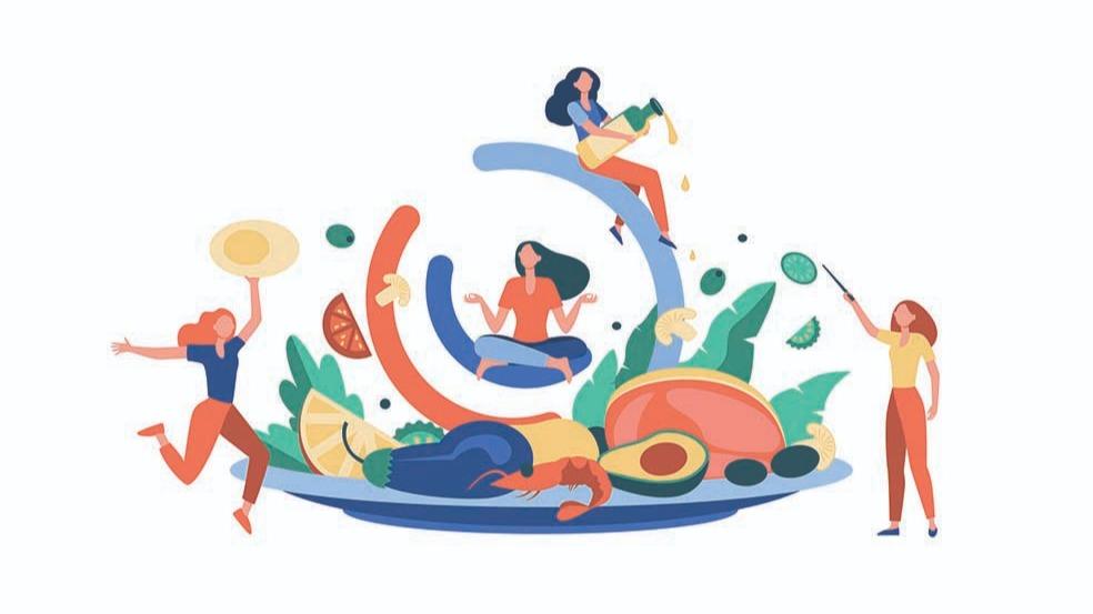 Représentation de la formation : FORMATION NUTRITION - Comment équilibrer son alimentation en milieu professionnel - 1 jour - Présentiel