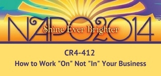 """CR 4-412 How To Work """"On"""" Not """"In"""" Your Business"""