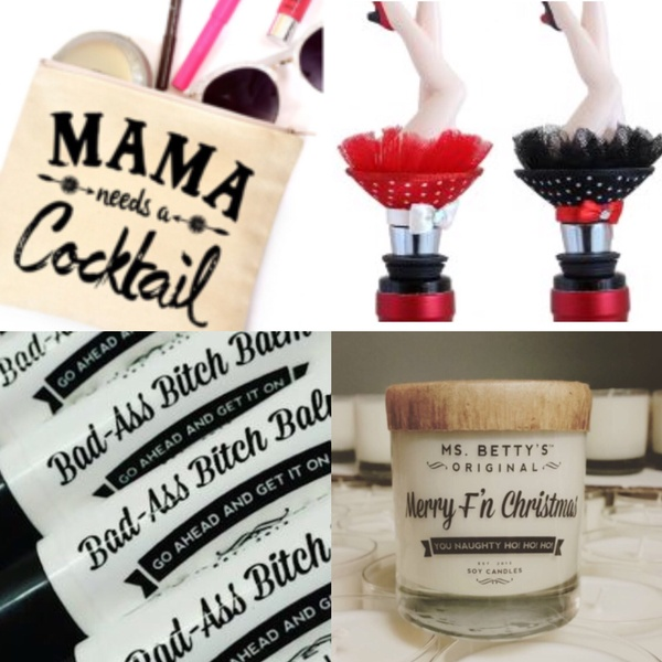 Mama Needs A Cocktail, December 2017 Box theme