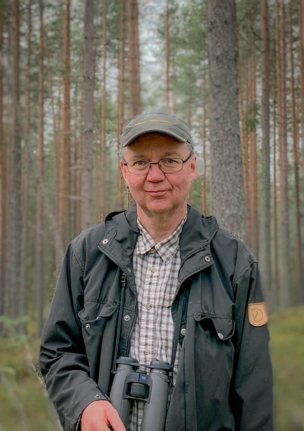 Jari Kouki, professor i skogsekologi vid University of Eastern Finland.