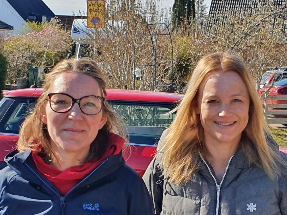Marika Rudolphi och Jenny Åhfeldt läser sista terminen på utbildningen till processtekniker.