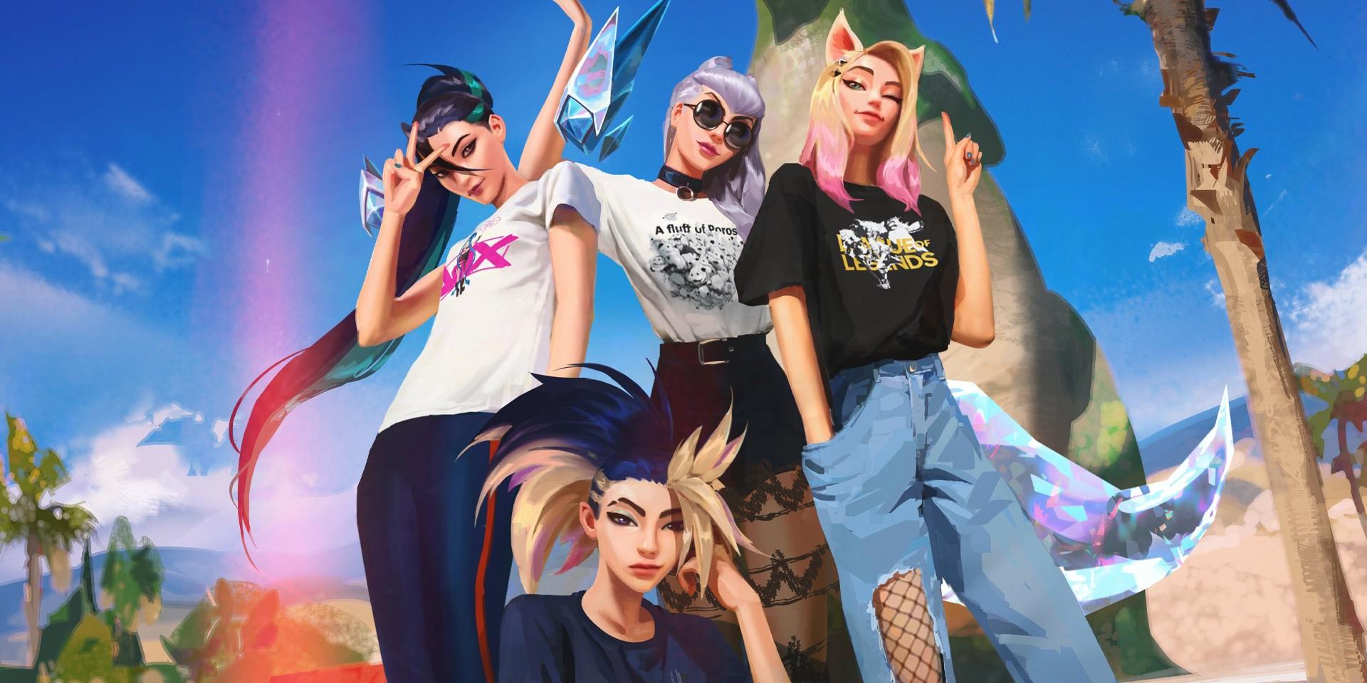 Riot Games collaborates with Uniqlo for exclusive League of Legends, K/DA merch
